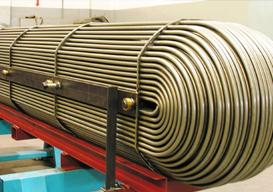 Fabricação de Trocador de Calor Casco Tubo
