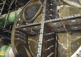 Limpeza Mecânica em Condensadores de Vapor