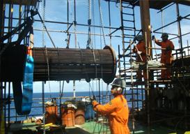 Manutenção em Permutadores de Calor Offshore