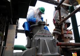 Manutenção em Trocador de Calor Heatric