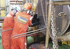 Retubagem de Trocadores de Calor Offshore